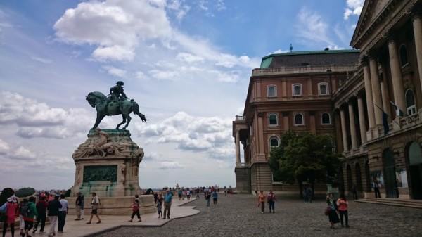 Королевский замок в Будапеште.