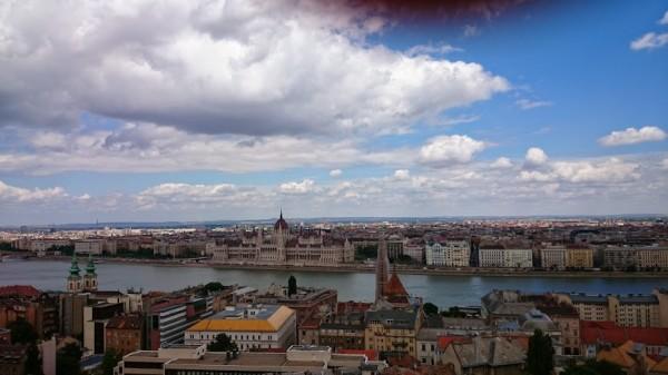 Будапешт - вид с Королевского холма